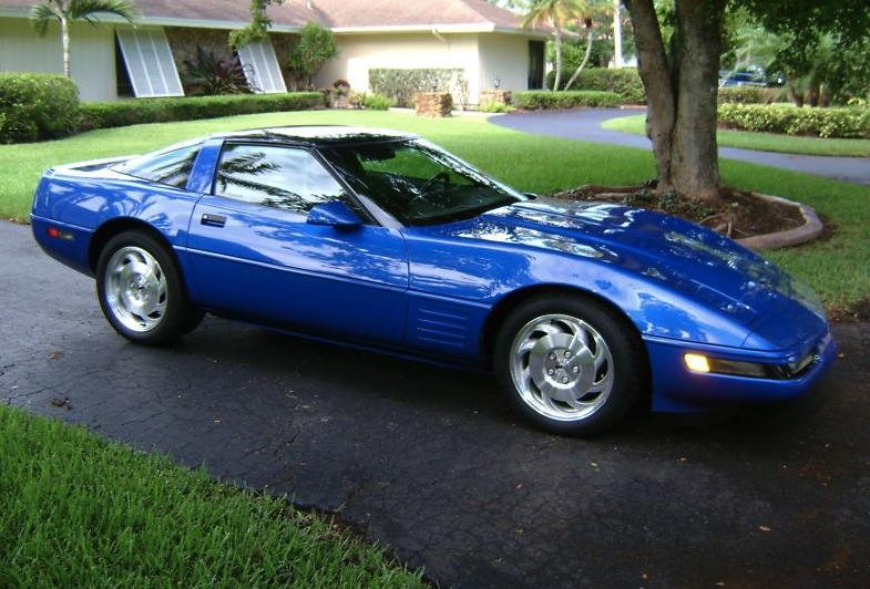 Admiral Blue 1994 GM Chevrolet Corvette