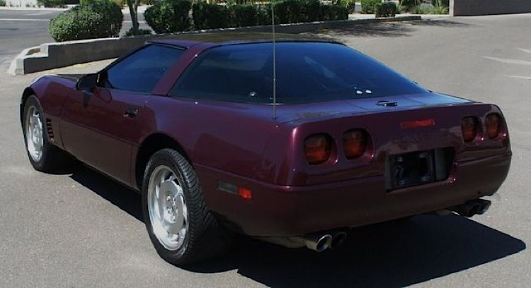 Dark Purple 1995 GM Chevrolet Corvette