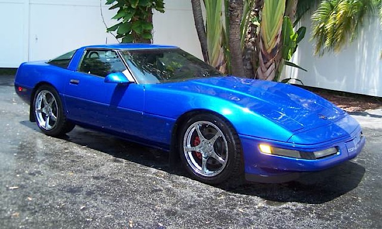 Admiral Blue 1995 GM Chevrolet Corvette