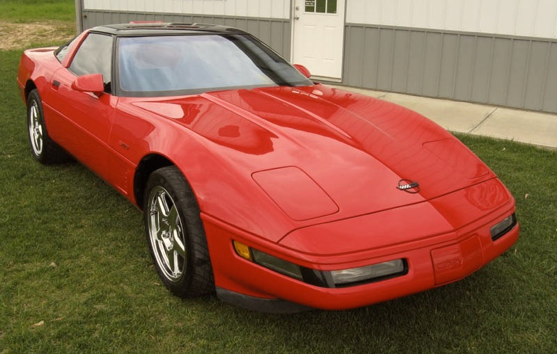 Torch Red 1995 GM Chevrolet Corvette