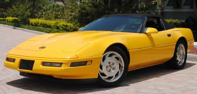 Competition Yellow 1995 GM Chevrolet Corvette