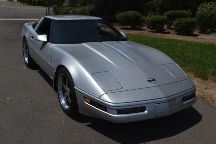 Sebring Silver 1996 GM Chevrolet Corvette
