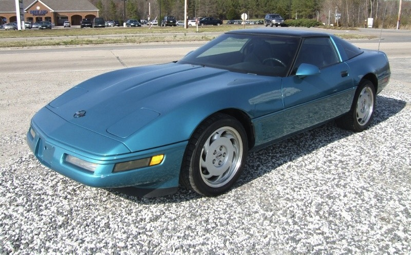 Bright Aqua 1996 GM Chevrolet Corvette