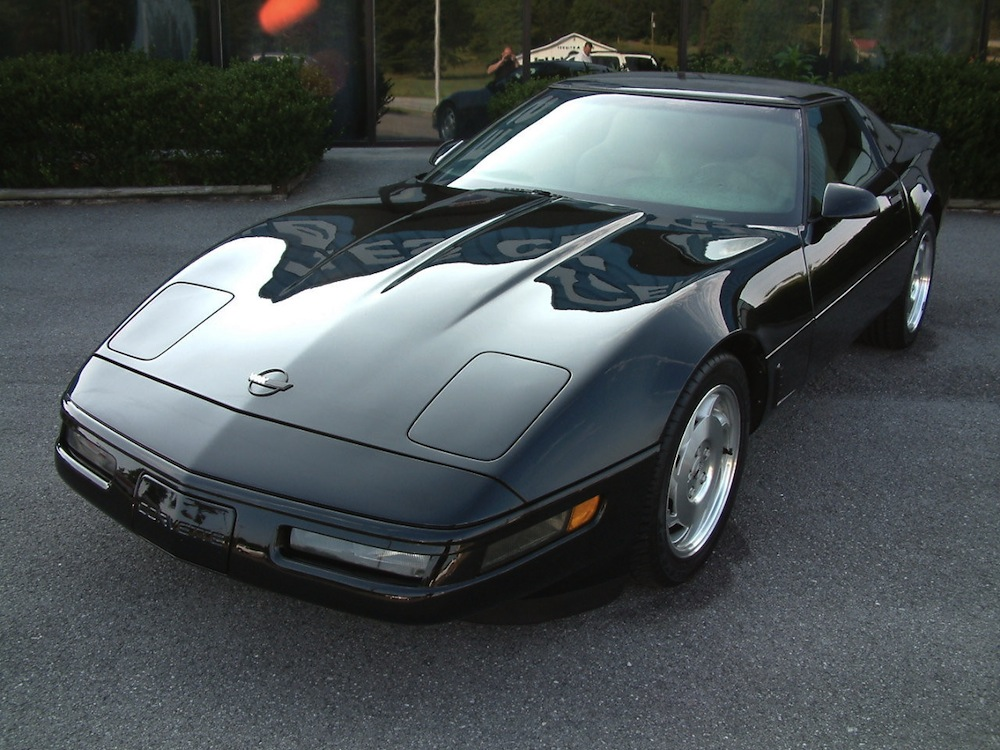 Black 1996 GM Chevrolet Corvette