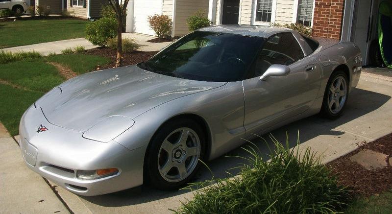 Sebring Silver 1997 GM Chevrolet Corvette