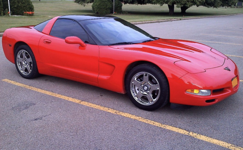 Torch Red 1997 GM Chevrolet Corvette