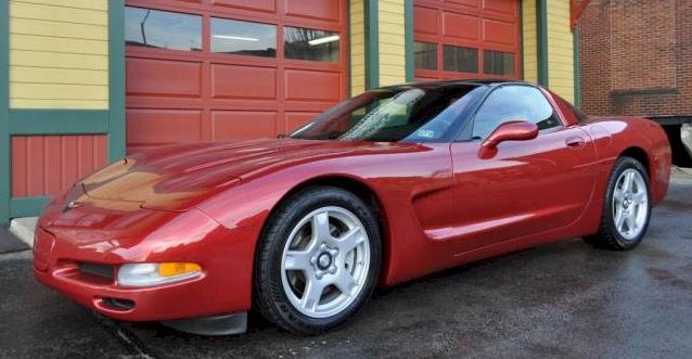 Light Carmine Red 1997 GM Chevrolet Corvette