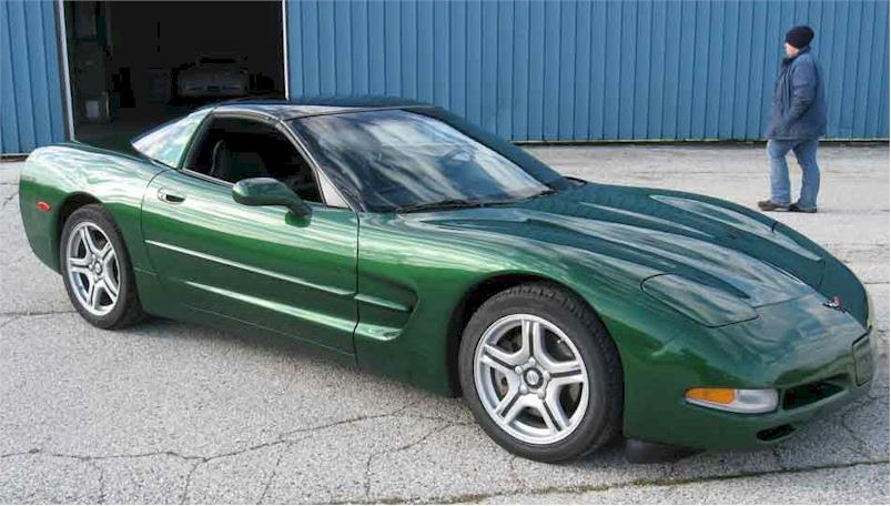 Fairway Green 1997 GM Chevrolet Corvette