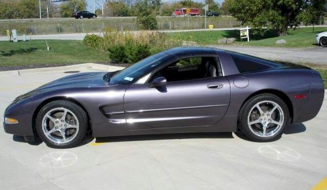 Medium Pearl Purple 1998 GM Chevrolet Corvette