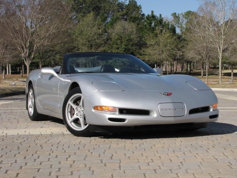Sebring Silver 1998 GM Chevrolet Corvette