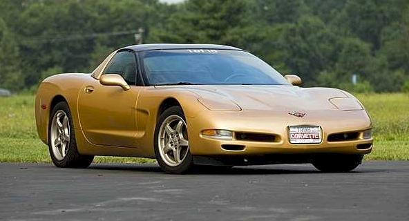 Aztec Gold 1998 GM Chevrolet Corvette