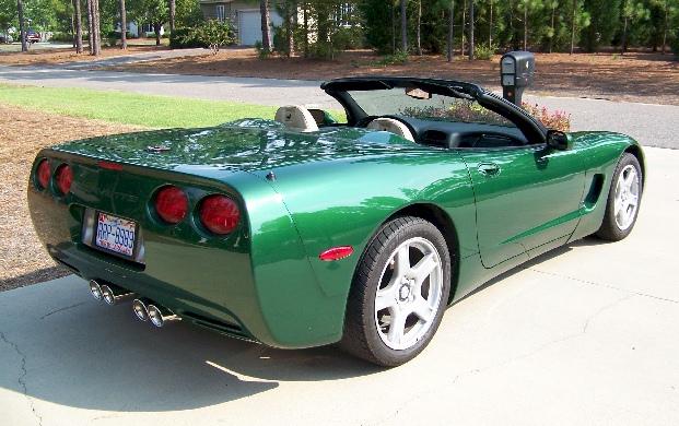 Fairway Green 1998 GM Chevrolet Corvette