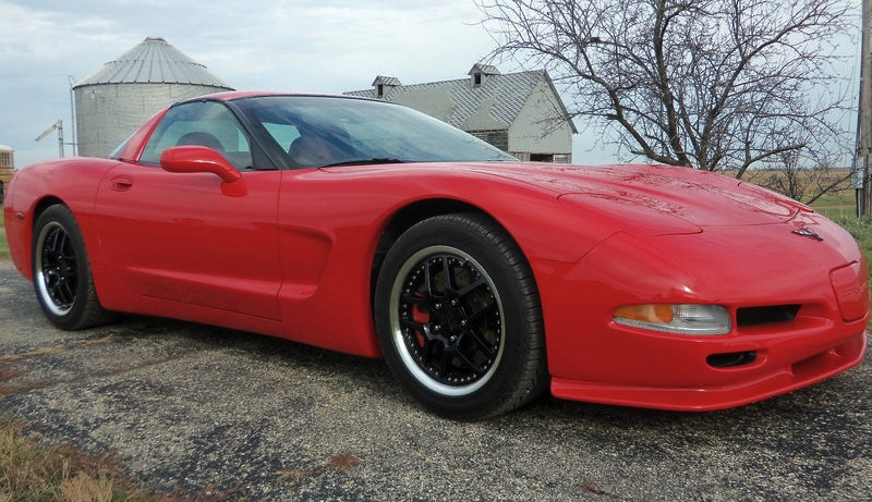 Torch Red 1998 GM Chevrolet Corvette