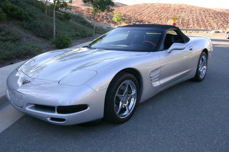 Sebring Silver 1999 GM Chevrolet Corvette