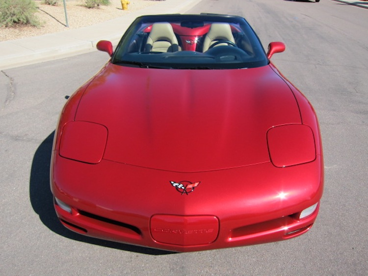 Magnetic Red 1999 GM Chevrolet Corvette