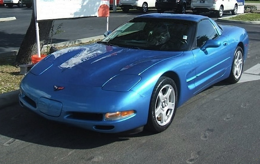 Bright Blue (Nassau) 1999 GM Chevrolet Corvette
