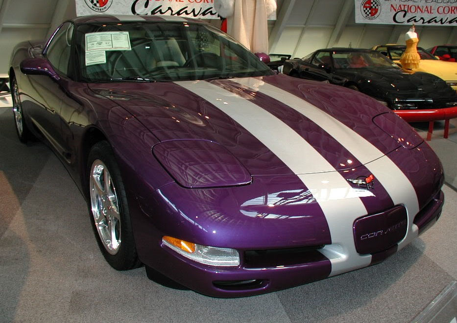 Platinum Power Purple 2000 GM Chevrolet Corvette
