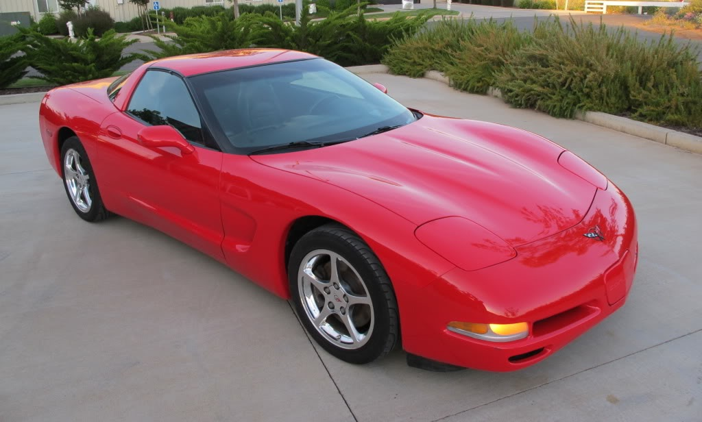 Torch Red 2002 GM Chevrolet Corvette