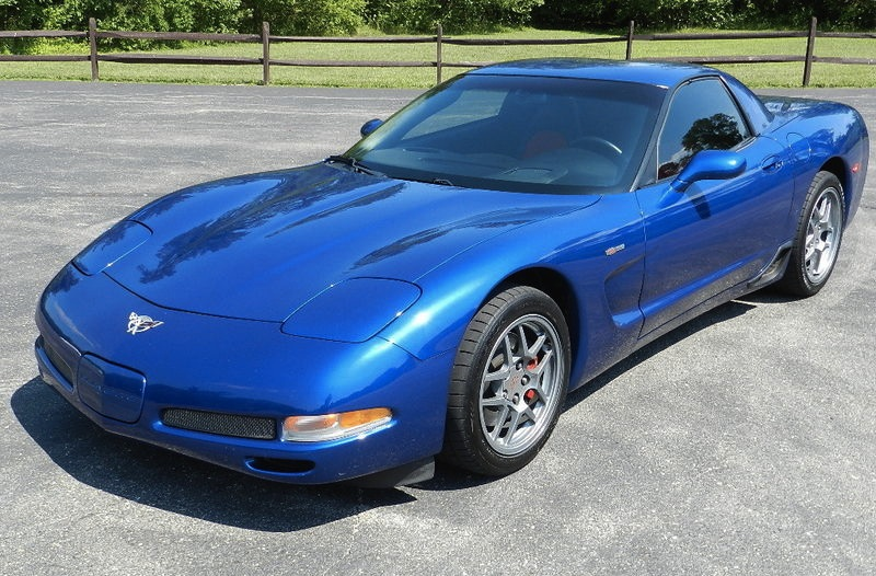 Electron Blue 2003 GM Corvette