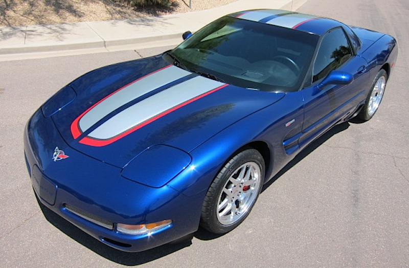 Lemans Blue 2004 GM Chevrolet Corvette Z06 Commemorative Edition