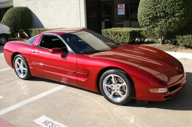 Magnetic Red 2004 GM Chevrolet Corvette