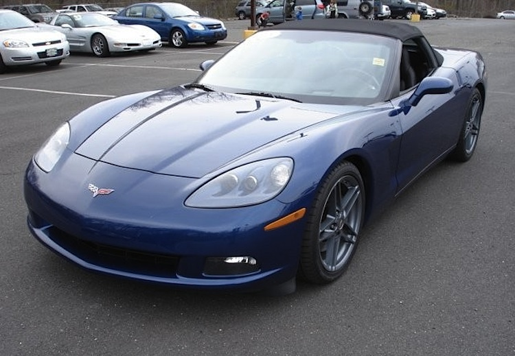 Lemans Blue 2005 GM Chevrolet Corvette