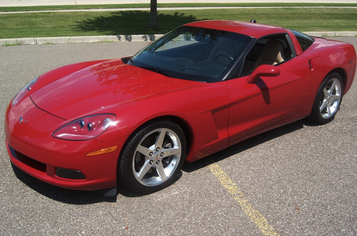 Precision Red 2005 GM Corvette