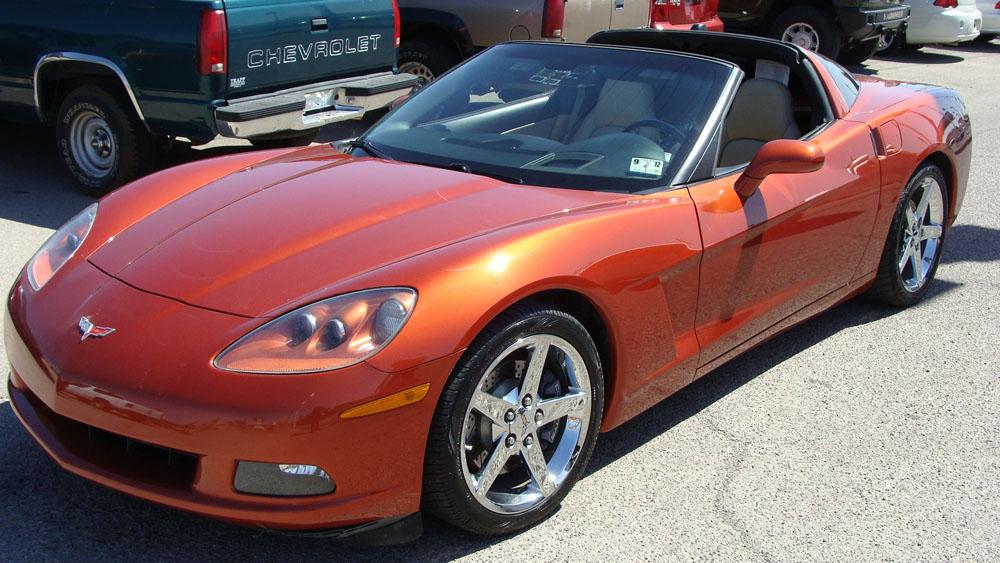 Daytona Sunset Orange 2005 GM Chevrolet Corvette