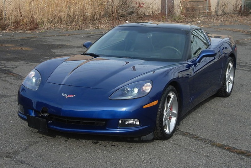 Lemans Blue 2006 GM Chevrolet Corvette