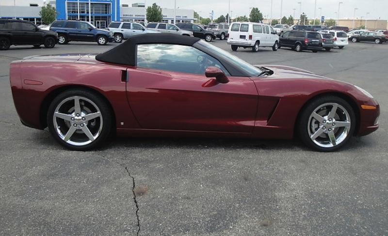 Monterey Red 2006 GM Chevrolet Corvette