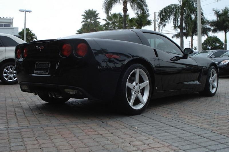 Black 2006 GM Chevrolet Corvette