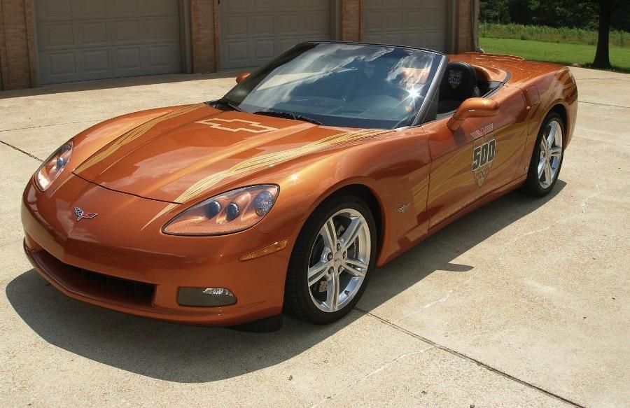 Atomic Orange 2007 GM Chevrolet Corvette