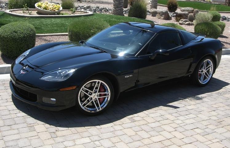 Black 2007 GM Chevrolet Corvette