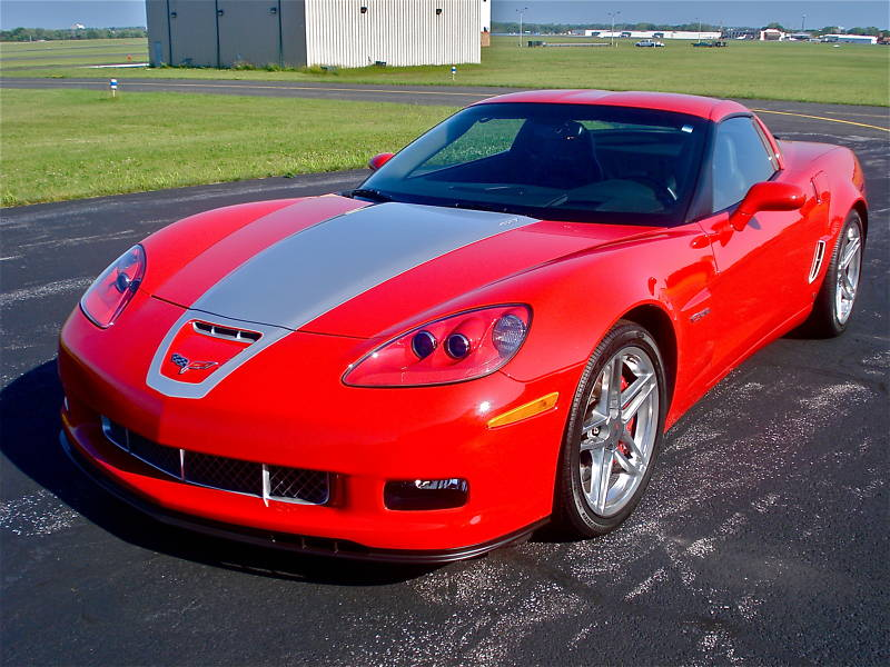 Victory Red 2007 GM Chevrolet Corvette