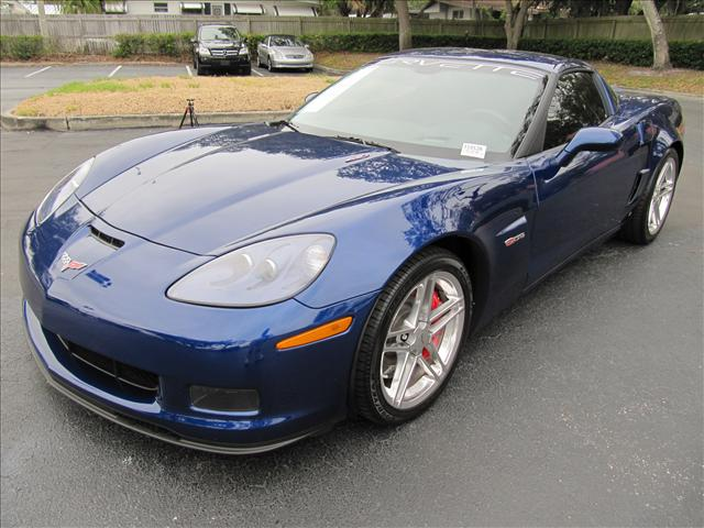 Lemans Blue 2007 GM Chevrolet Corvette