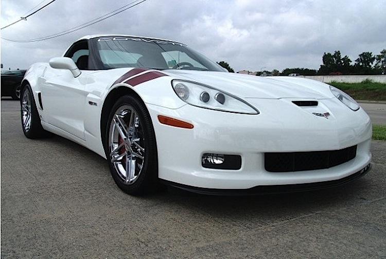 Arctic White 2007 GM Chevrolet Corvette