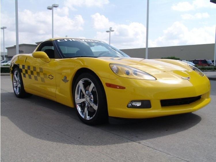 Velocity Yellow 2008 GM Chevrolet Corvette