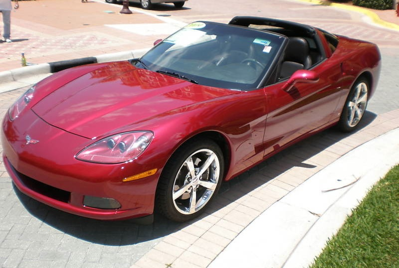 Crystal Red 2009 GM Chevrolet Corvette