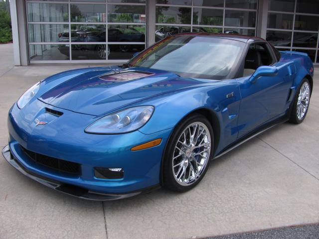 Jetstream Blue 2009 GM Chevrolet Corvette