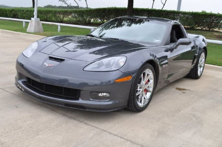 Cyber Gray 2009 GM Corvette