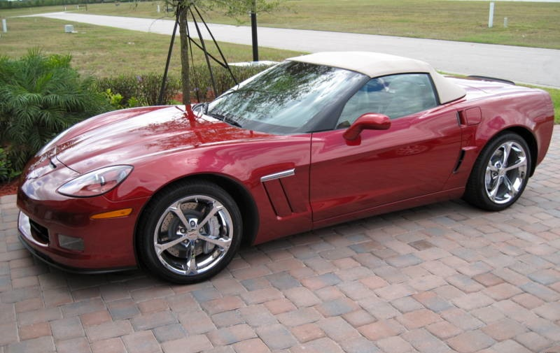 Crystal Red 2010 GM Chevrolet Corvette