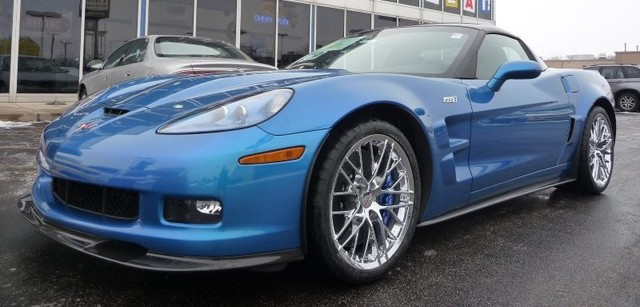 Jetstream Blue 2010 GM Chevrolet Corvette