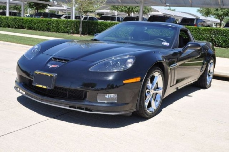 Black 2010 GM Chevrolet Corvette