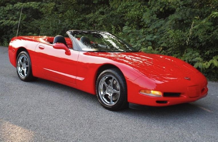 Torch Red 2001 GM Chevrolet Corvette