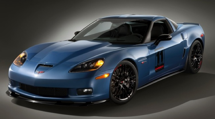 Supersonic Blue 2011 GM Chevrolet Corvette