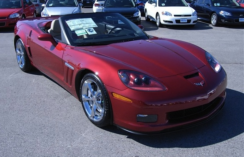 Crystal Red 2012 GM Chevrolet Corvette Z16 Grand Sport