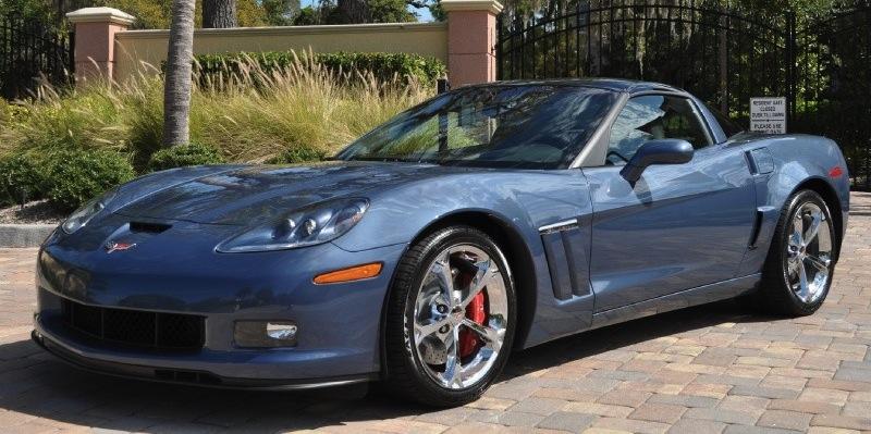 Supersonic Blue 2012 GM Chevrolet Corvette Z16 Grand Sport