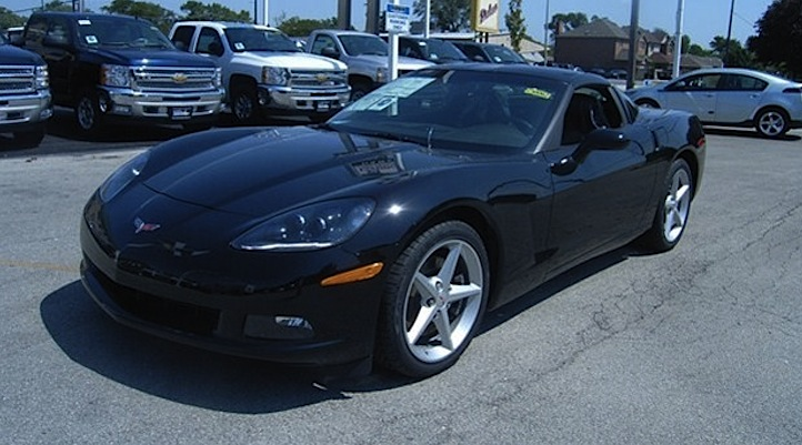 Black 2013 GM Chevrolet Corvette
