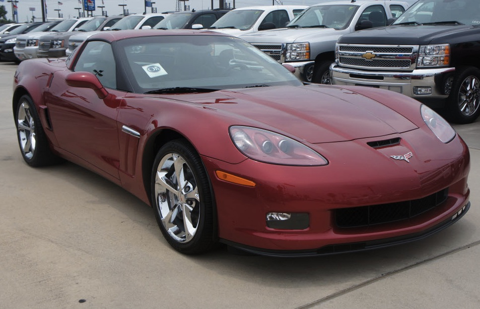 Crystal Red 2013 GM Chevrolet Corvette