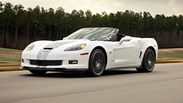 Arctic White 2013 GM Chevrolet Corvette